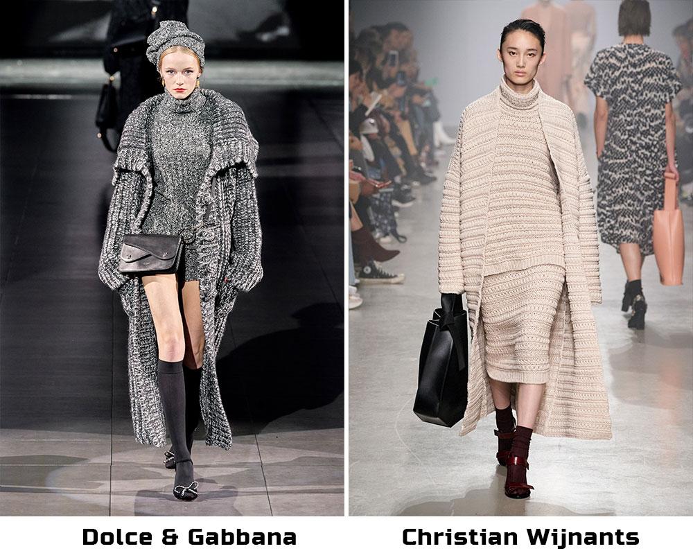 вязаные пальто 2021