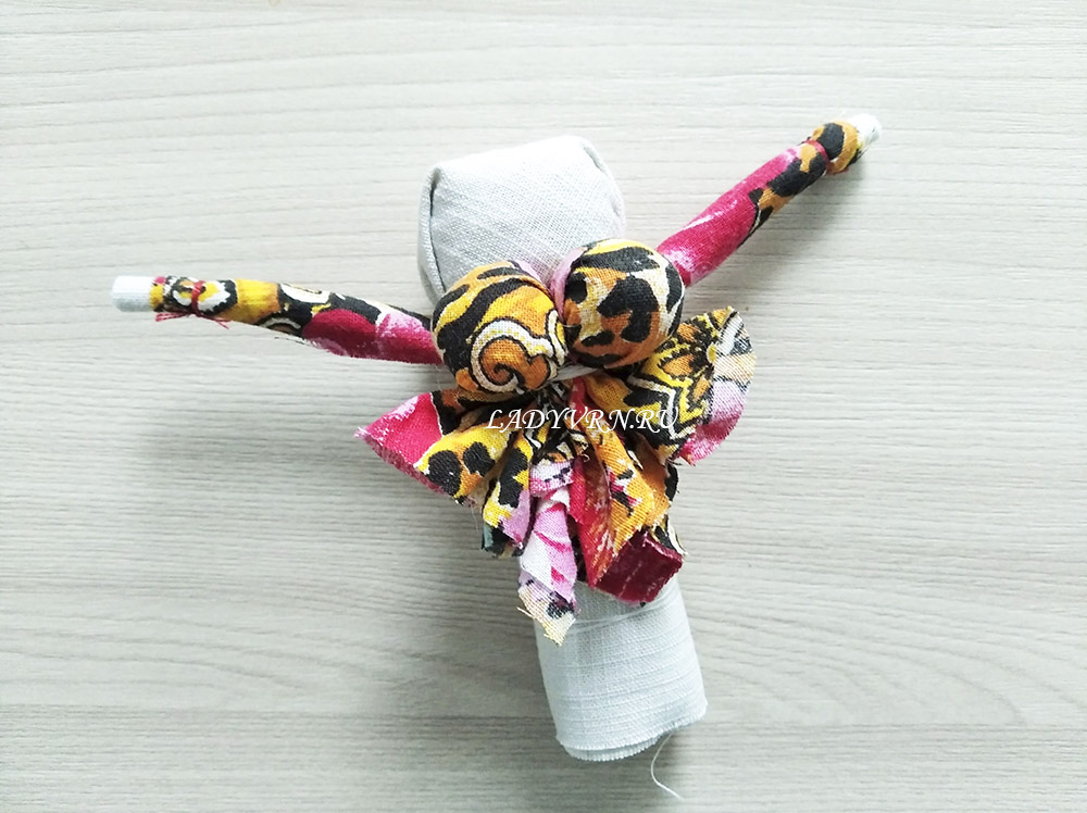 изготовление народной куклы масленицы