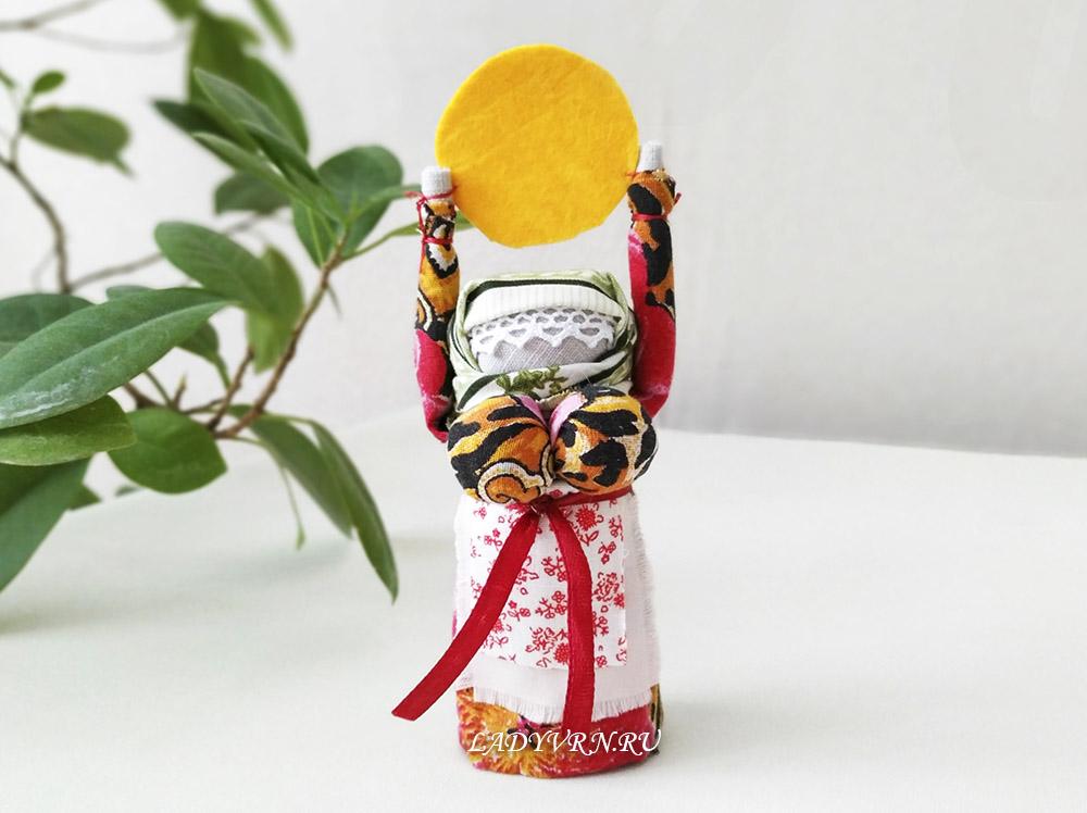 кукла-оберег Масленица своими руками