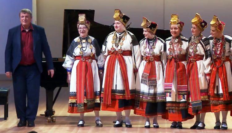 Воронежский ансамбль «Воля» выступил на концерте с Борисом Березовским в Москве