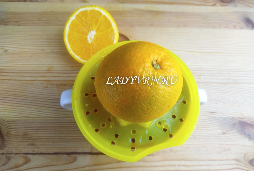 апельсин для кулича