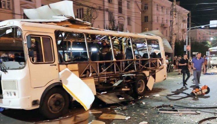 В результате взрыва автобуса в Воронеже погибли две женщины