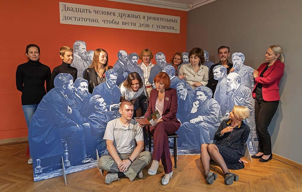 фотозона в музее Крамского Воронеж