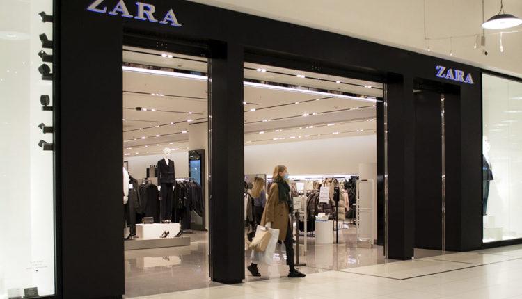 Где купить одежду Zara в Воронеже