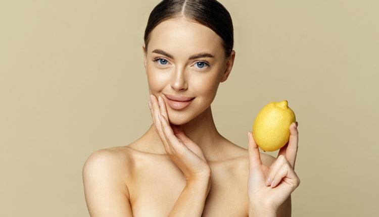 Лимонный сок для волос и кожи лица